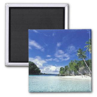 Palau, Rock Islands, Honeymoon Island, World 2 Inch Square Magnet