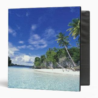 Palau, Rock Islands, Honeymoon Island, World 3 Ring Binder