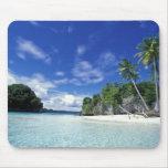 Palau, Rock Islands, Honeymoon Island, World Mouse Pad