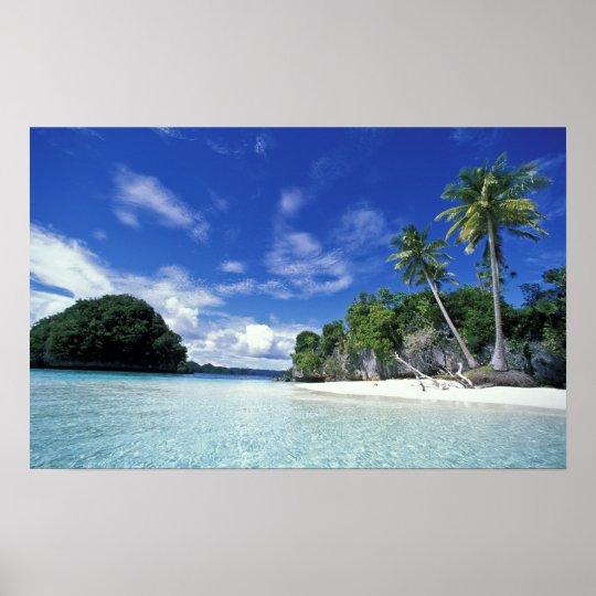 Palau, Rock Islands, Honeymoon Island, World Poster