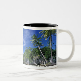 Palau, Rock Islands, Honeymoon Island, World Two-Tone Coffee Mug