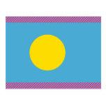 Palau señala por medio de una bandera postal