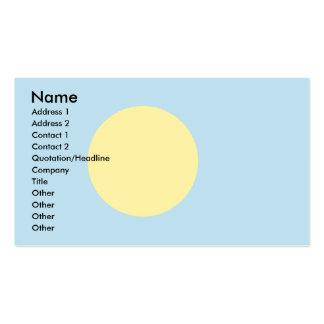 Palau señala por medio de una bandera tarjetas de visita