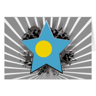 Palau Star Greeting Cards