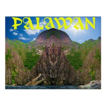Art Themed Palawan -Inspired Art that Depicts Palawan Postcard