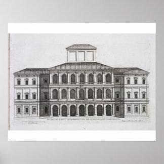 Palazzo Barberini en el Quirinale, acabado 1630, Impresiones