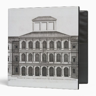 Palazzo Barberini on the Quirinale, finished 1630, 3 Ring Binder
