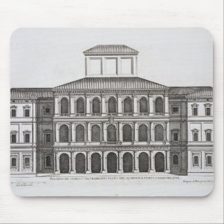 Palazzo Barberini on the Quirinale, finished 1630, Mouse Pad