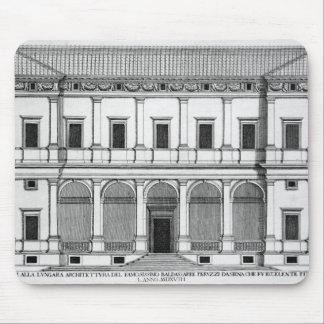 Palazzo Chigi en el Lungara, Roma, de 'Palazzi Alfombrillas De Ratón
