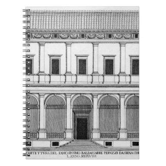 Palazzo Chigi en el Lungara, Roma, de 'Palazzi Cuadernos
