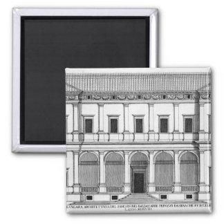 Palazzo Chigi en el Lungara, Roma, de 'Palazzi Imán Cuadrado