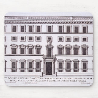 Palazzo Chigi, Piazza Colonna, Rome, from 'Palazzi Mouse Pad