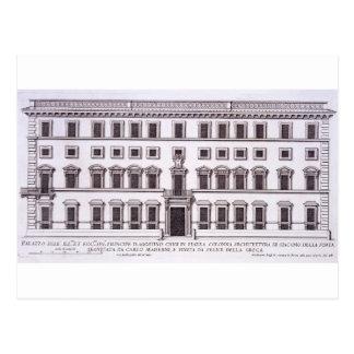 Palazzo Chigi, Piazza Colonna, Rome, from 'Palazzi Postcard
