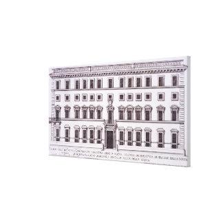 Palazzo Chigi, plaza Colonna, Roma, de 'Palazzi Impresiones En Lienzo Estiradas