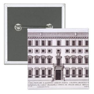 Palazzo Chigi, plaza Colonna, Roma, de 'Palazzi Pin Cuadrado