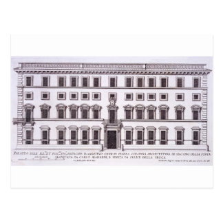 Palazzo Chigi, plaza Colonna, Roma, de 'Palazzi Postales
