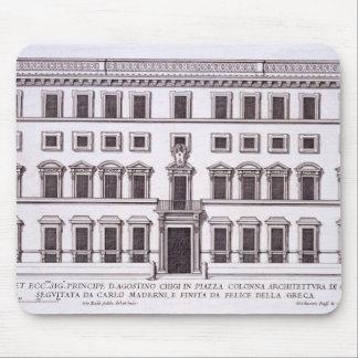Palazzo Chigi, plaza Colonna, Roma, de 'Palazzi Tapete De Ratones