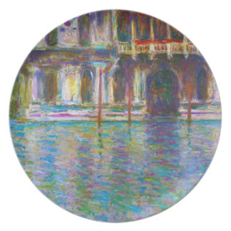 Palazzo Contarini Claude Monet Plates