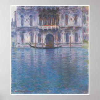 Palazzo Contarini, Venice, Claude Monet Poster