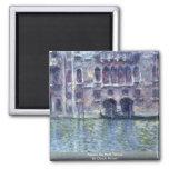 Palazzo DA Mula Venecia de Claude Monet Imán De Nevera