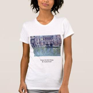 Palazzo DA Mula Venecia de Claude Monet Camisetas