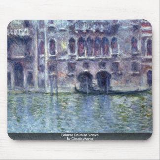 Palazzo Da Mula Venice By Claude Monet Mouse Pad