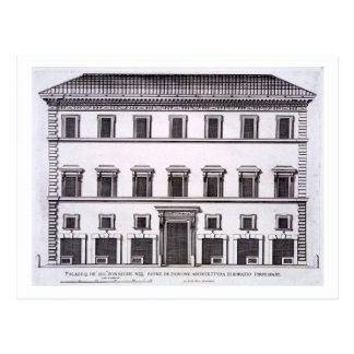 Palazzo de la familia de Fonseca, Roma, de Postal