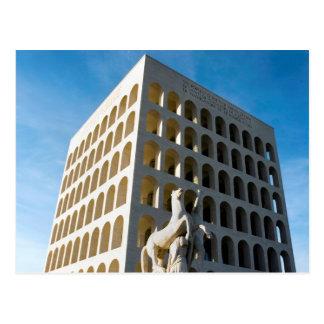 Palazzo della civilta' romana postcard
