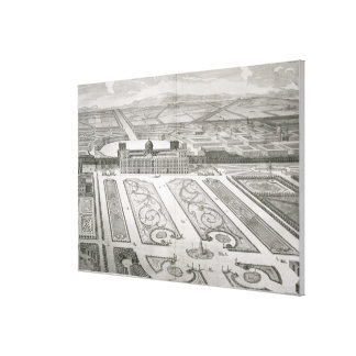 Palazzo di Caserta, from 'Dichiarazione dei Disegn Canvas Print