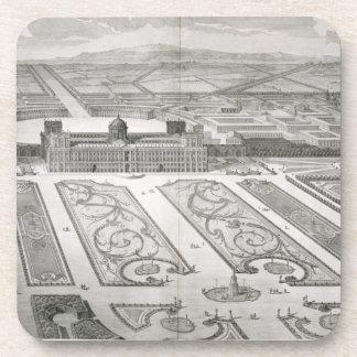Palazzo di Caserta, from 'Dichiarazione dei Disegn Drink Coaster