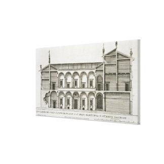 """Palazzo di Santo Spirito, de los """"di Roma de Palaz Impresiones En Lienzo Estiradas"""