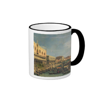 Palazzo Ducale and the Riva degli Schiavoni, Venic Ringer Mug