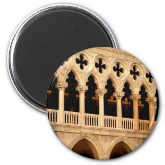 Palazzo Ducale 2 Inch Round Magnet
