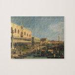 Palazzo Ducale y el degli Schiavoni, Venic de Riva Puzzles Con Fotos