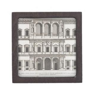 """Palazzo Farnese, de los """"di Roma de Palazzi"""", part Cajas De Regalo De Calidad"""