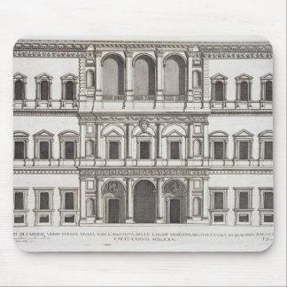 "Palazzo Farnese, de los ""di Roma de Palazzi"", part Mouse Pads"