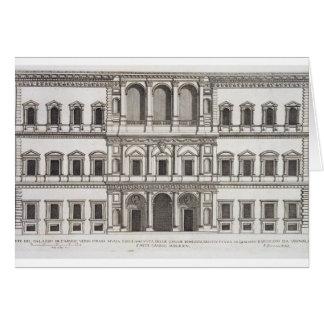 """Palazzo Farnese, de los """"di Roma de Palazzi"""", part Tarjeta De Felicitación"""