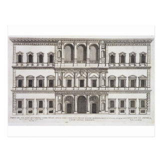 "Palazzo Farnese, de los ""di Roma de Palazzi"", Tarjetas Postales"