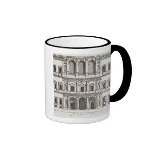 """Palazzo Farnese, de los """"di Roma de Palazzi"""", Taza De Dos Colores"""