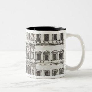 "Palazzo Farnese, de los ""di Roma de Palazzi"", Taza De Dos Tonos"