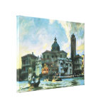 Palazzo Labia Venice Sargent Vintage Impressionism Gallery Wrap Canvas