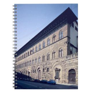Palazzo Medici-Riccardi, begun 1444 (photo) Notebook