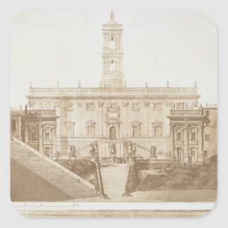 Palazzo Senatorio, The Capitol, Rome, from 'Fragme Square Sticker