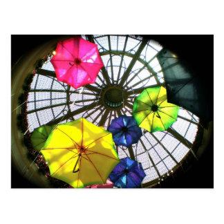 Palazzo Umbrellas Ceiling- Las Vegas Postcard
