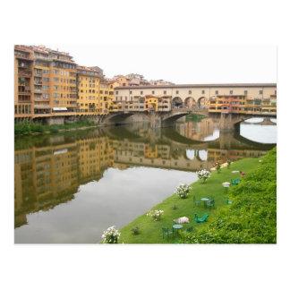 Palazzo Vecchio Bridge Postcard