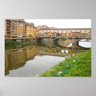 Palazzo Vecchio Bridge Poster