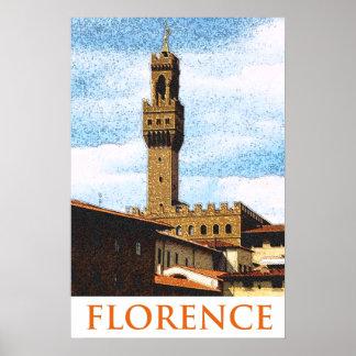 Palazzo Vecchio Florencia Italia Impresiones
