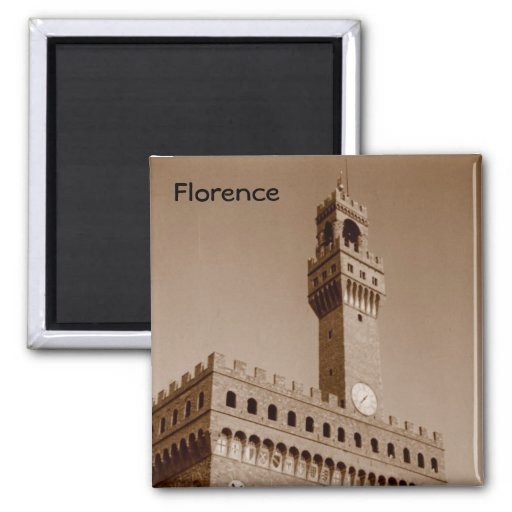Palazzo Vecchio Fridge Magnet