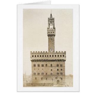 Palazzo Vecchio, or the Palazzo della Signoria, Fl Cards