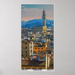 Palazzo Vecchio Panorama (vertical) Print